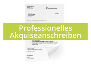 Professionelles-Akquiseanschreiben
