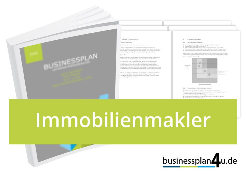 Immobilienmakler - Businessplan Download - Muster kostenlos