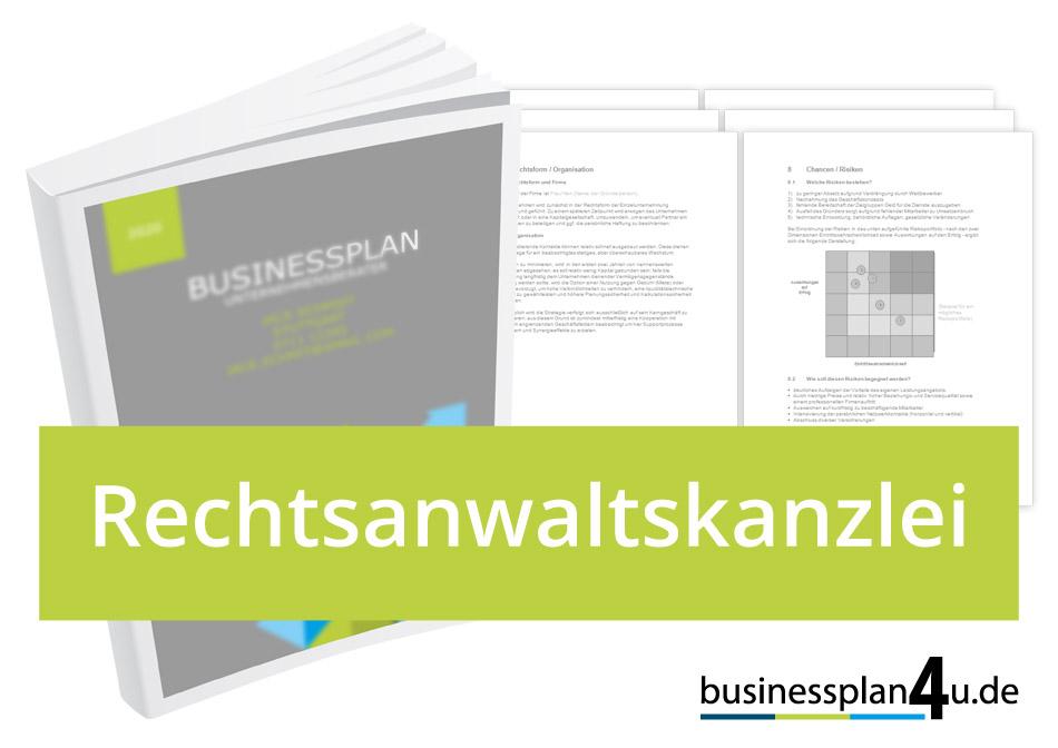 Rechtsanwaltskanzlei Businessplan Download Muster Kostenlos