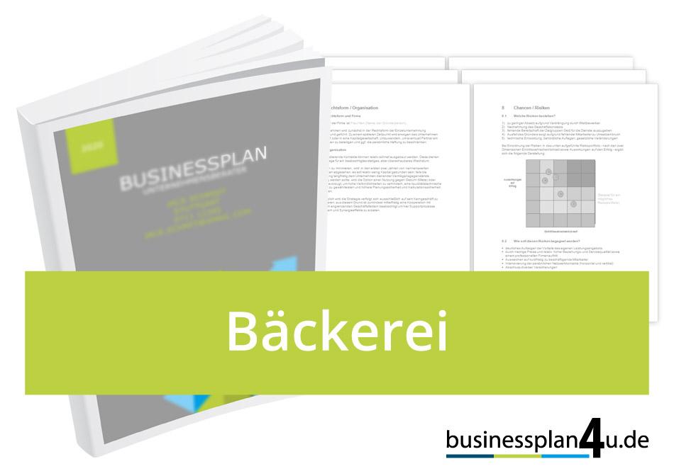 Backerei Businessplan Download Muster Kostenlos